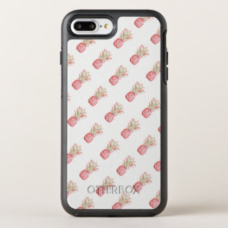 Ananas | rose tropical coque otterbox symmetry pour iPhone 7 plus