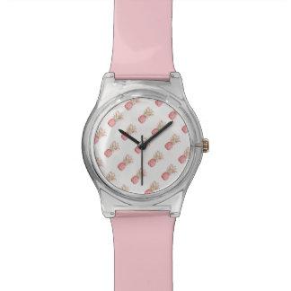 Ananas | rose tropical montres bracelet