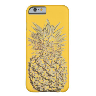 Ananas sur l'or jaune coque iPhone 6 barely there