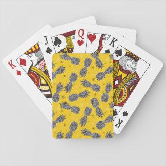 Ananas sur l'or jeu de cartes