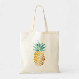 Ananas tropical hawaïen sac fourre-tout