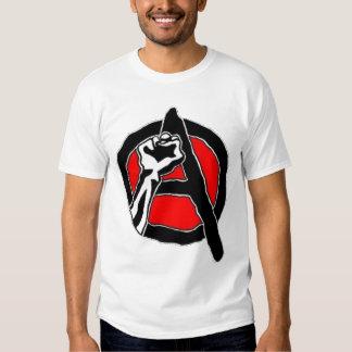 Anarchisme (chemise blanche) t-shirt