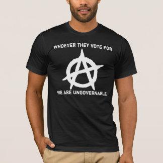 Anarchisme - ingouvernable t-shirt