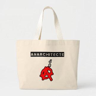 Anarchitecte - Jeux de Mots - Francois Ville Grand Tote Bag