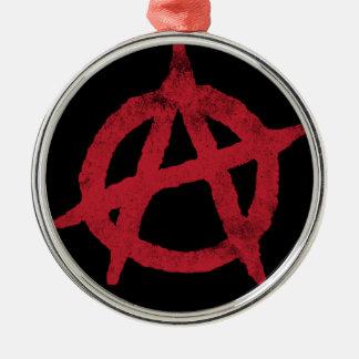 Anarchy Circle A Christmas Tree Ornaments