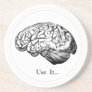 Anatomie de cerveau - employez-la dessous de verres