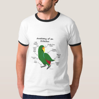 Anatomie d'un Eclectus T-shirt