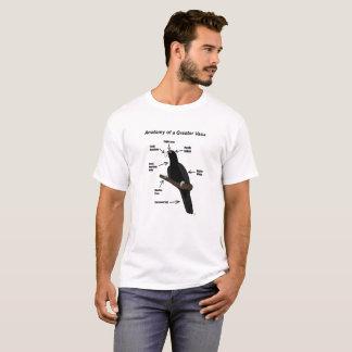 Anatomie d'un plus grand perroquet de Vasa T-shirt