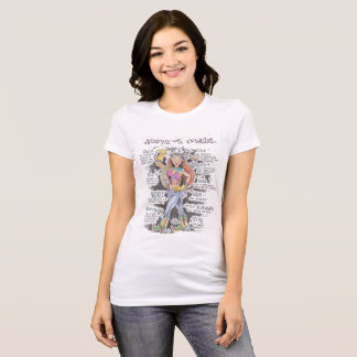 Anatomie d'un T-shirt de cow-girl
