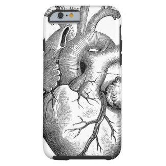 Anatomie vintage | de coeur personnalisable coque iPhone 6 tough