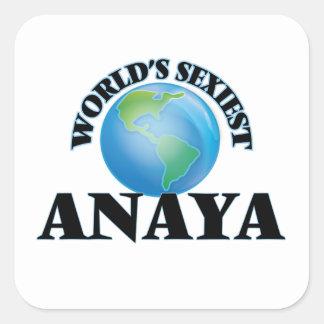 Anaya le plus sexy du monde stickers carrés