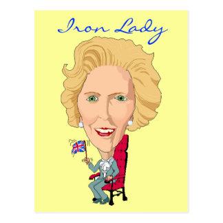 Ancien premier ministre britannique Dame de carte