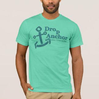 Ancre de baisse, T-shirt de la Dominique--divers