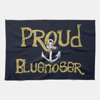 Ancre fière de Bluenoser la Nouvelle-Écosse de Serviettes Éponge