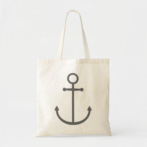 Ancre nautique de très bon goût mignonne de gris d sacs