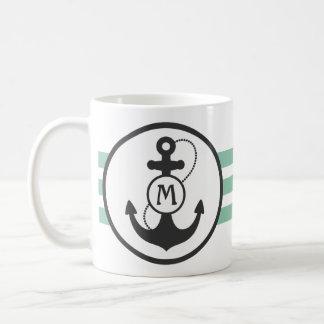 Ancre nautique mug