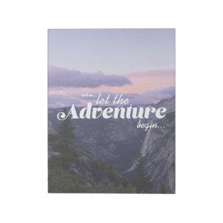 and ainsi… let begin - bloc de note adventure the blocs notes