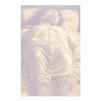 ANDREA MANTEGNA - lamentation du Christ 1480 Papier À Lettre Customisable