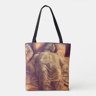 ANDREA MANTEGNA - lamentation du Christ 1480 Tote Bag