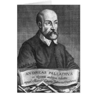 Andrea Palladio gravé par Francesco Carte De Vœux