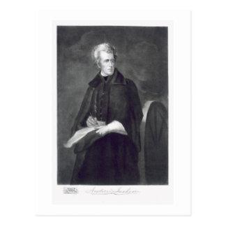 Andrew Jackson, 7ème Président des États-Unis Carte Postale