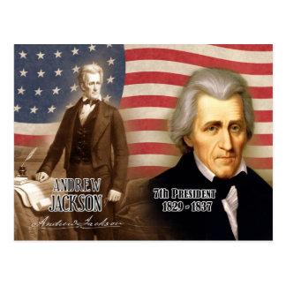 Andrew Jackson - 7ème président des États-Unis Carte Postale