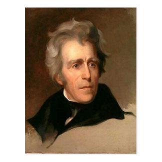 Andrew Jackson Carte Postale