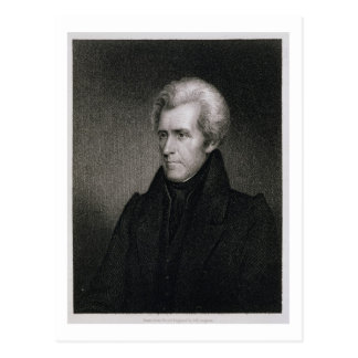 Andrew Jackson (gravure) Carte Postale