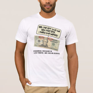 Andrew Jackson I a tué les banques T-shirt