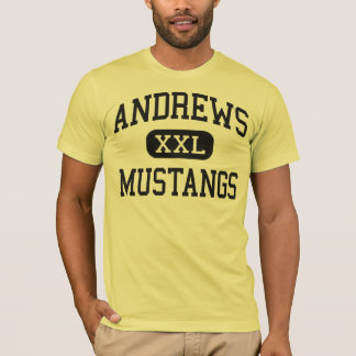 Andrews - mustangs - lycée - Andrews le Texas T-shirt
