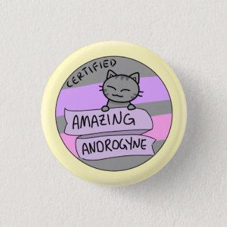 Androgyne extraordinaire badges