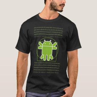 Androïde d'homme de Vitruvian T-shirt