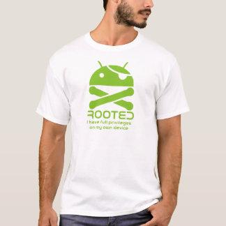 Androïde enraciné t-shirt