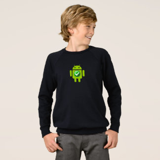 Androïde raglan de sweatshirt de l'habillement