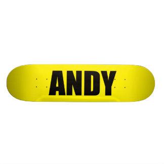 Andy Planches À Roulettes Customisées