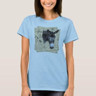 Âne de la chemise des femmes t-shirt