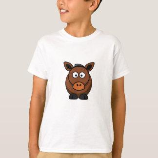 âne solitaire t-shirt
