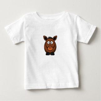 âne solitaire t-shirt pour bébé