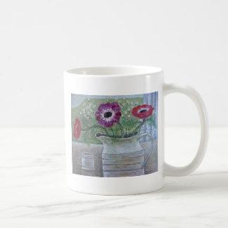 Anémones dans la cruche blanche 2013 mug