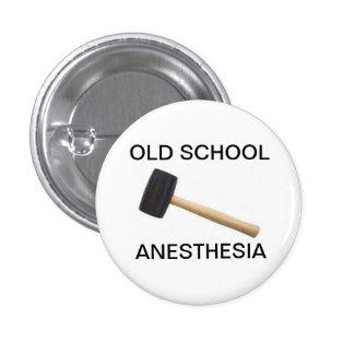 anesthésie de vieille école avec le maillet en cao badge