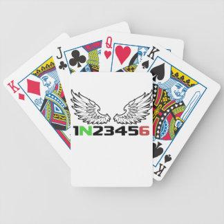ange 1N23456 Cartes À Jouer