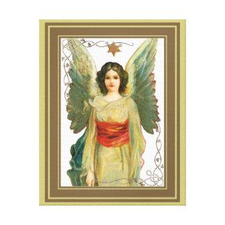 Ange avec l'étoile d'or toile