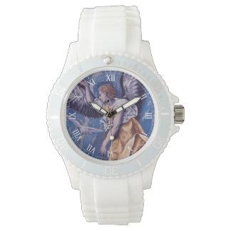 ange avec une colombe blanche montres