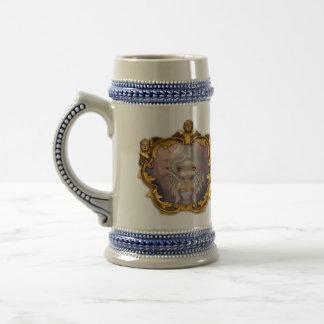 Ange dans la tasse féerique gothique rococo lilas