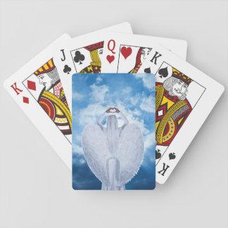 Ange dans les nuages cartes à jouer