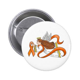 "Ange de conscience ""de ruban orange"" badge"