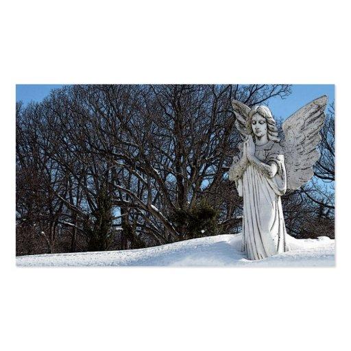 Ange de consolation • Soleil Modèles De Cartes De Visite