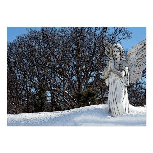 Ange de consolation • Soleil Carte De Visite