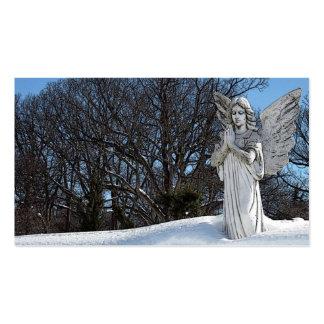 Ange de consolation • Soleil Carte De Visite Standard