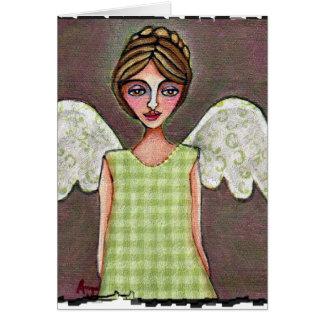 Ange de grâce - carte de voeux (3)